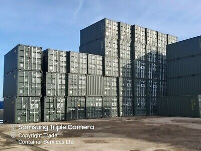 """NEW 20FT SHIPPING CONTAINERS FOR SALE """" FROM"""" £1950 + vat"""