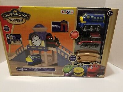Works w// Thomas Brio Chuggington Wooden Railway IRVING New in Package