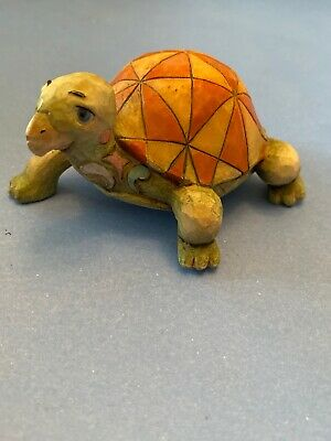 Jim Shore Heartwood Creek ceramic tortoise ornament