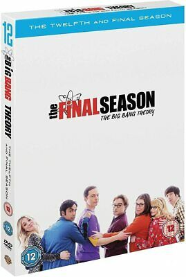 The Big Bang Theory Season 12 [2019] (DVD) Johnny Galecki, Jim Parsons