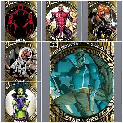 Topps Marvel Collect Digital  Gardians 2nd Printing : FULL SET With Award