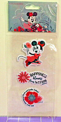 NEW Disney 2019 Epcot Flower & Garden Festival Embroidered Patches Minnie Mouse