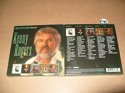 Kenny Rogers / 5 Classic Albums  5 cd 2017 NEW AND SEALED