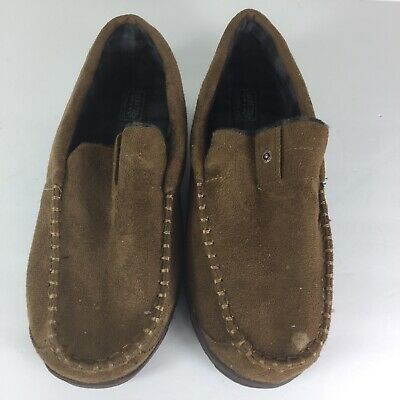 Levi Strauss & Co Signature Men Brown Slip On House Shoes Size 9-10