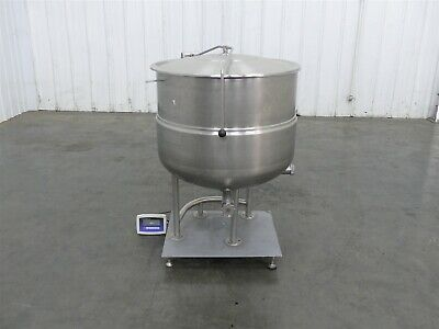 Welbilt Kettle KGl-80 Stainless Steel Approximately 80 Gallons