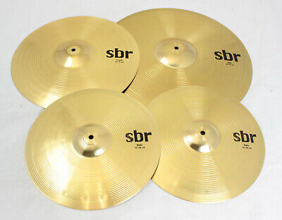 Sabian SBR5003 Brass SBR Performance Cymbal Set