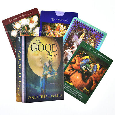 The Good Tarot: A 78-Card Deck and Electronic Guidebook Free Shipping Card Game
