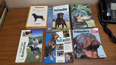 TFH/Barron's HB/SB Rottweilers Dog Books (6 Choices or All 6 for a Low Price)
