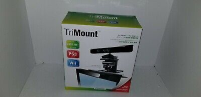 NEW TRI HD TV Flat Screen Wall Mount for XBOX 360 PS3 PlayStation Move Eye,Wii