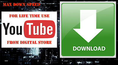 You Tube  Video downloader For life Time Use google drive Instant delivery,