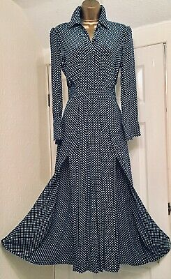 Charter Club Petite Endless Summer Blue Printed Shirtdress w// Pleated Belt OCFO