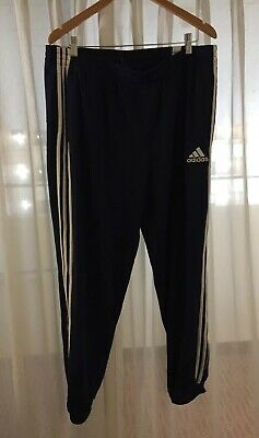 adidas Climawarm blue pants mens XL Athletic Warm Up  Track Running knit sport