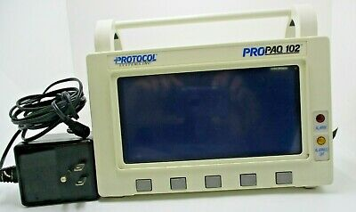 Protocol ProPaq 102 Vital Sign Monitor Used