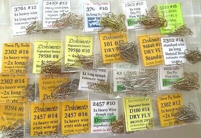 """BRASS BARBELL assortment 1//8/"""" 5//32/"""" 3//16/"""" GOLD SILVER hourglass fly tying 175"""