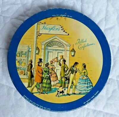 Vintage Huyler's New York Filled Confections Tin In Good Condition