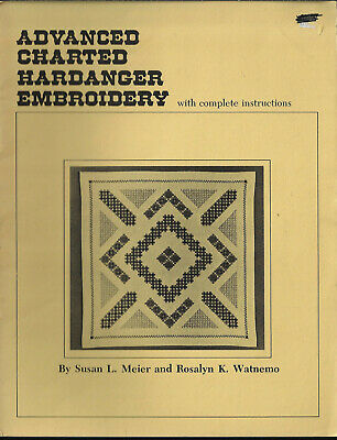 Advanced Charted Hardanger Embroidery Meier & Watnemo Nordic Needle