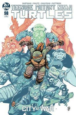 Tmnt Ongoing #98 1:10 Dialynas Ri Variant Idw 9/24/2019 Eb75