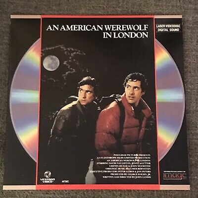 An American Werewolf In London Laserdisc Image Horror Rare