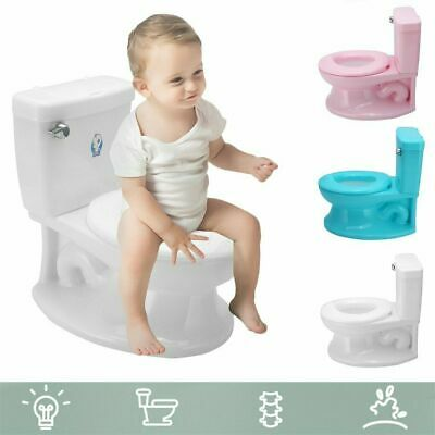 Infant My Size Potty Toilet Trainer Realistic Looks Training Toddler Toilet WF