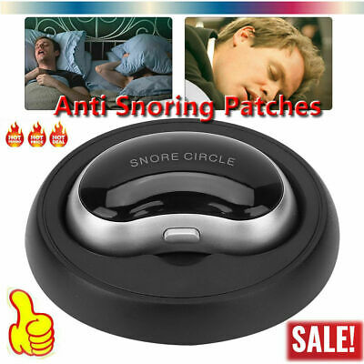 Anti Snoring Patches Electric Device Smart Snoring Bluetooth Snore Stop Sleep A