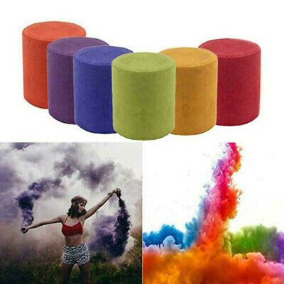 Smoke Cake Colorful Smoke Effect Show Round Bomb Stage Photography Aid Toy Gifts