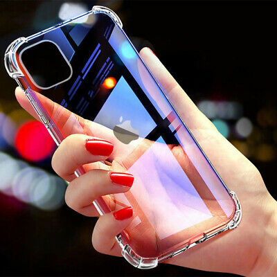 CLEAR Case For iPhone 11 Pro Max 7 8 XR 6S Plus XS Cover Shockproof Silicone Gel