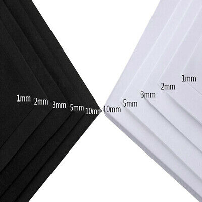1~10mm EVA Foam Sheets 35x50cm/35x100cm Kids Handmade DIY Craft Cosplay Model