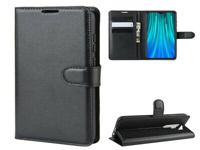 PU Leather Stand Flip Wallet Card Holder Case Cover For Xiaomi Redmi Note 8 Pro