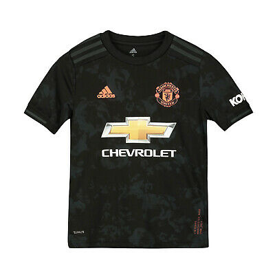 Manchester United FC Official Football Gift Boys Third Kit Shirt 2019/20