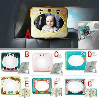 Car Child Kids Safety Seat Reverse Reflective Rearview Mirror W
