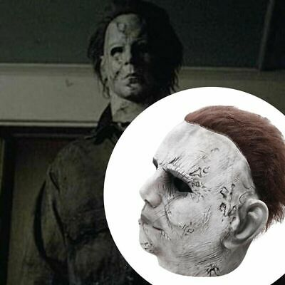 Michael Myers Halloween Latex Mask Trick or Treat Full Head Adult Fancy Dresses