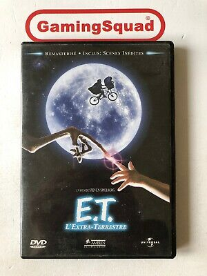 E.T Extra Terrestrial (French) DVD, Supplied by Gaming Squad