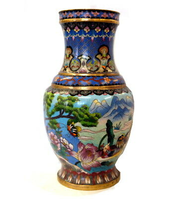 Cloisonné Vase, China
