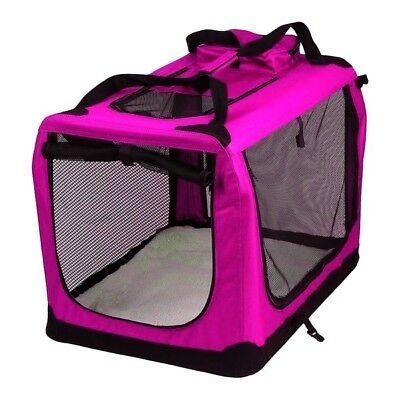 Avc Animal Porte Rose Pliage Chien Chat Chiot Voyage Transport Sac (Extra Large)