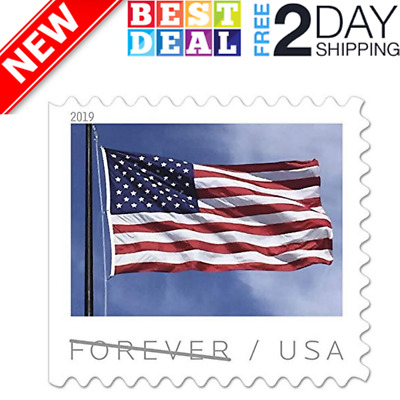 USPS US New Double Sided  Flag Forever Postage Stamps - Book of 20