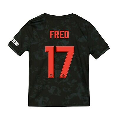 D3 Manchester United Cup Third Shirt 2019 - 20 - Kids 7-8 Free Fred print