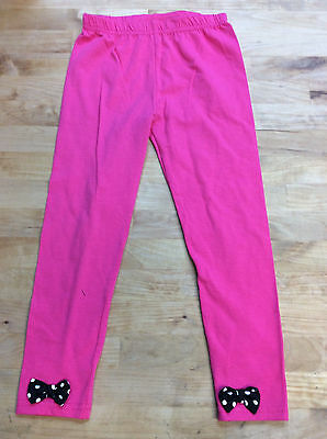 Nanette Girls Elastic Waist Leggings, Pink, Size 5