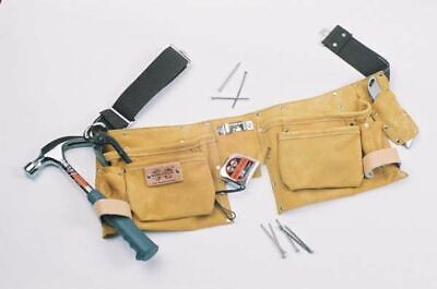 Leather nail and tool belt ideal for DIY proffessional