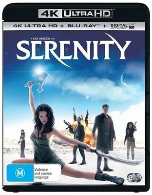 Serenity 4K Ultra HD : NEW UHD Blu-Ray