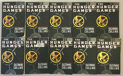 The Hunger Games Book 1 by Suzanne Collins Paperback Classroom Set Lot of 10