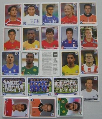 FIFA Football World Cup South Africa Panini Stickers (2010)
