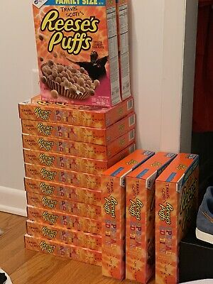 Travis Scott x Reese's Puffs cereal SOLD OUT - Look Mom I Can Fly Small Size