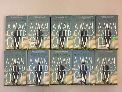 A Man Called Ove by Fredrik Backman 2015 Paperback Book Club Set Lot of 10