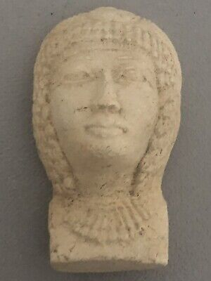 Rare Ancient Egyptian Queen Cleopatra Mask (1403-1365 BC)