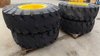 Jcb X4 Michelin X Mined 2 17.5 / R25  Rim And Tyres To Fit 550-80 - 560-80 +