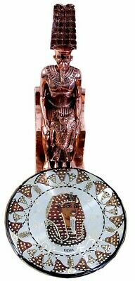 Art of Egyptian Statues Kg.Ramses (Hand Made Copper) Home Decor Antiques (2Kg)