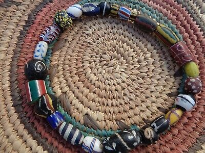 African Trade Beads Italian & Dutch Antique 1700's to 1800's