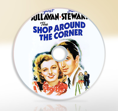The Shop Around The Corner (1940) DVD Classic Comedy Film / Movie James Stewart