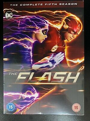 The Flash Season 5 (Fifth Series) - DVD - Official Uk Stock Brand New & Sealed