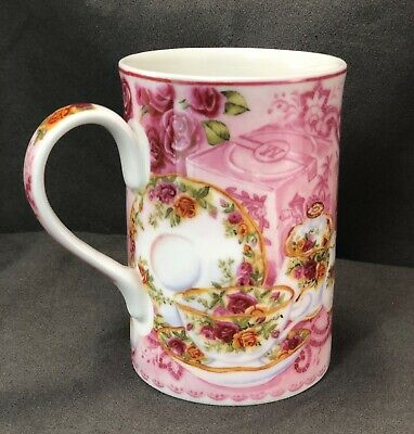 Royal Albert Old Country Roses Afternoon Tea Coffee Cup- Bone China~ Floral Pink